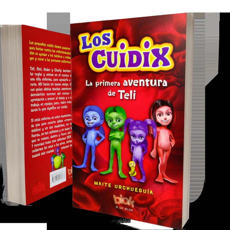 libro infantil cuidix